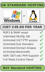 uk web hosting £49