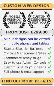 web design from £99